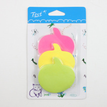 fruit shaped memo pad for gift