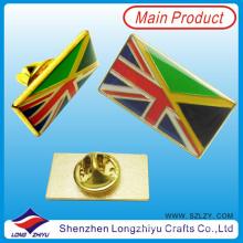 Pin de lapela bandeira cruzada do Reino Unido e Alemanha