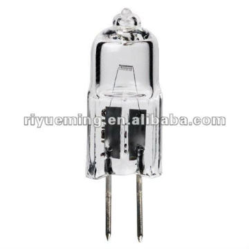 Clear JC G4 12v 10w halogen light bulb with CE