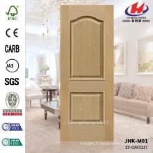 JHK-M01 JHK-M01 Embossage Pressé 16mm Solid Outstanding EV-ASH 5317 Porte de placage de moule Panneau de porte en bois