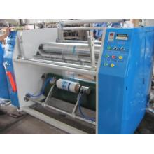 Machine de rebobinage de fente de film extensible de PVC