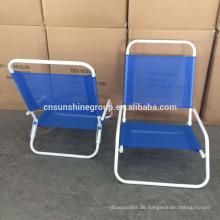 outdoor metal leg folding beach chair