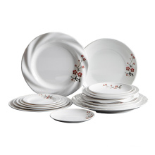 New made in China plastic 100% melamine tableware selling high-quality products restaurant school tableware sets