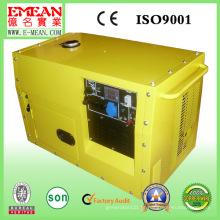 Gerador silencioso da gasolina de 4 cursos / gerador 5kw silencioso