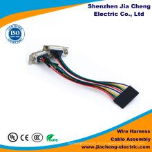 Chicote de fios flexível do fio do poder do PVC do cabo do adaptador