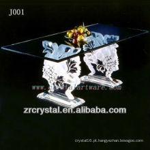 K9 mesa de cristal