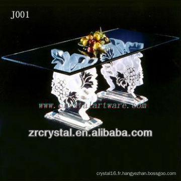 K9 Table en cristal