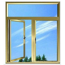 Tempered Double Glazed Aluminium Side Hung Window