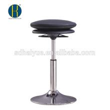 Vente chaude noir pu meubles de bar à vendre avec base ronde