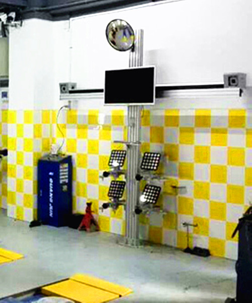 High Precision Wheel Alignment
