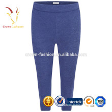 Color Blue Plain Kids Knitted Pants