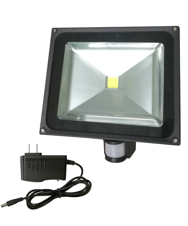 12v led solar flood light with motion 50w