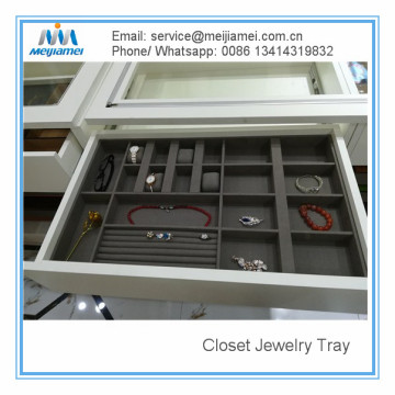 Online Exporter for Shelf Wardrobe Storage Jewerly Tray and Inserts export to South Korea Manufacturer