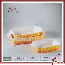 procelain rectangular porcelain baking dish