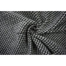 Armure de laine noire et blanche
