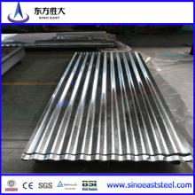 Hot Prime! Feuille de toit en tôle ondulée galvanisée / Revêtement en zinc Galvalume Toile Z60-200G / M2