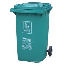 2 Wheelie Plastic Waste Bins / Dustbin (FS-80240E)