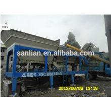 Planta de mistura de concreto móvel 50m3 / h