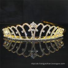 2017 Gold Hochzeit Rhinestone große Festzug Kronen zum Verkauf