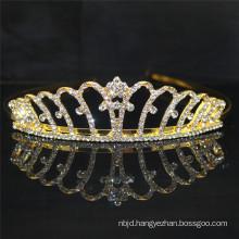 2017 Gold Wedding Rhinestone Tall Pageant Crowns For Sale