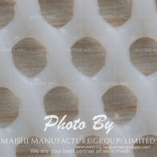 popular white plastic mesh fencing