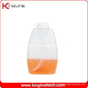 2L Round Plastic Jug Wholesale BPA Free with Lid (KL-8015)