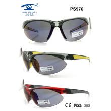 Popular Plastic Sport Sunglasses for Woman Man (PS976)