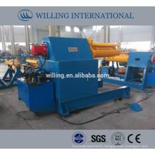 hydraulic steel coil decoiler 10T, hydraulic decoiler 10T