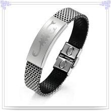 Jóias moda couro pulseira de couro da jóia (LB066)