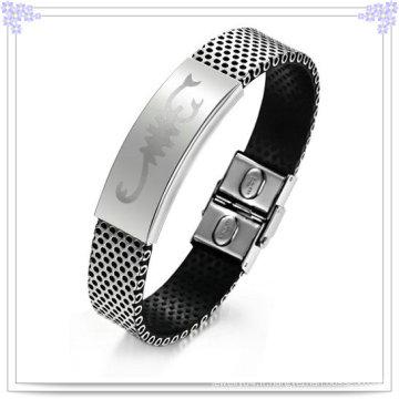 Bijoux Fashion Leather Jewelry Bracelet en cuir (LB066)