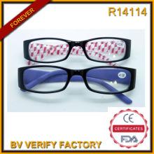 Vidrios de lectura de diseño moda Italia (R14114)