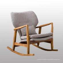 Деревянная стул-качалка