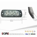 Ultradünne 4-LED Warnung Notfall Blinkende Blitzleuchten Bars Oberflächenmontage Für Auto Van Lkw Jeep 4x4 SUV ATV UTV