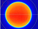 fiber coupled laser beam