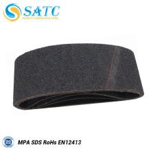 Cinturones abrasivos, lijadora de cinta ancha de correa de arena para la venta