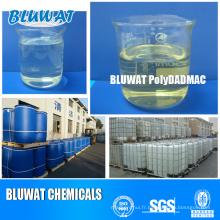 Chine Polydadmac Fabricant et fournisseur pour traitement des eaux usées Coagulant