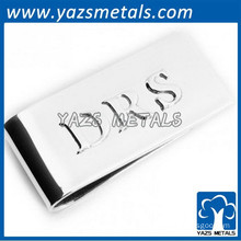 steel classic money clip walleting