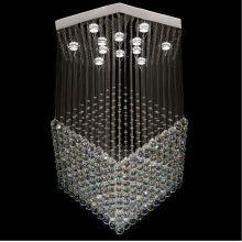 lámpara de comedor moderna lámpara de cristal de loto