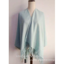 Fashion women plain winter poncho shawl