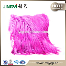 Wholesale Goat Skin Leather Cushion Cover