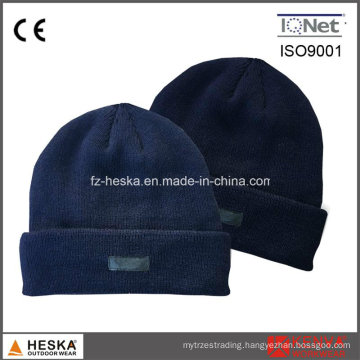 Winter Custom Cheap Acrylic Beanie Knit Work Hat