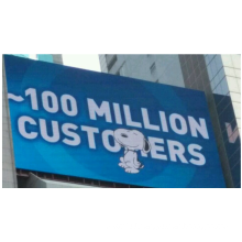 Famous brand outdoor transparent LED display