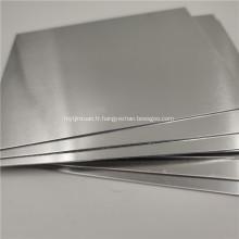 Plaque plate en feuille d'aluminium de 1 mm série 3000