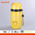 16 ounce Stainless Steel Double-Wall Vacuum Tea Container Color Coated Yellow