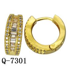 Factory Hot Sale Fashion Copper Jewelry Earring Huggies