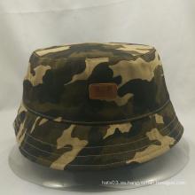 2015 sombrero de moda del camo del nuevo estilo, buen sombrero del cubo del precio