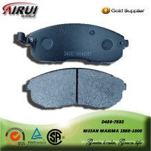 Semi-metallic brake pad for NISSAN MAXIMA 1988-2000