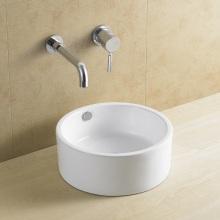 8118 Ronda de Belleza cerámica lavabo sin agujero grifo
