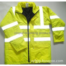 4 in 1 high visibiliy reflective safety clothing