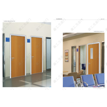 Porta interior do quarto de hospital de Foshan
